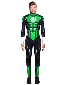 Green Lantern Justice League Jla Adult Mens Costume