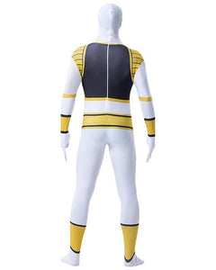Adult Mens Asbro Power Rangers super elastic Zentai Costume