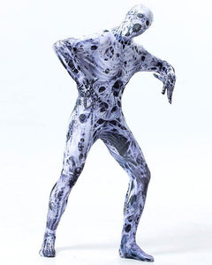 Adult Mens Spider Zombie super elastic Zentai Full Bodysuit Costume