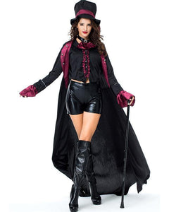 Womens Count Dracula Adult Halloween Costume