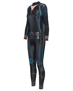 Widow Bodysuit Fancy Marvel Movie Catsuit Womens Halloween Costume