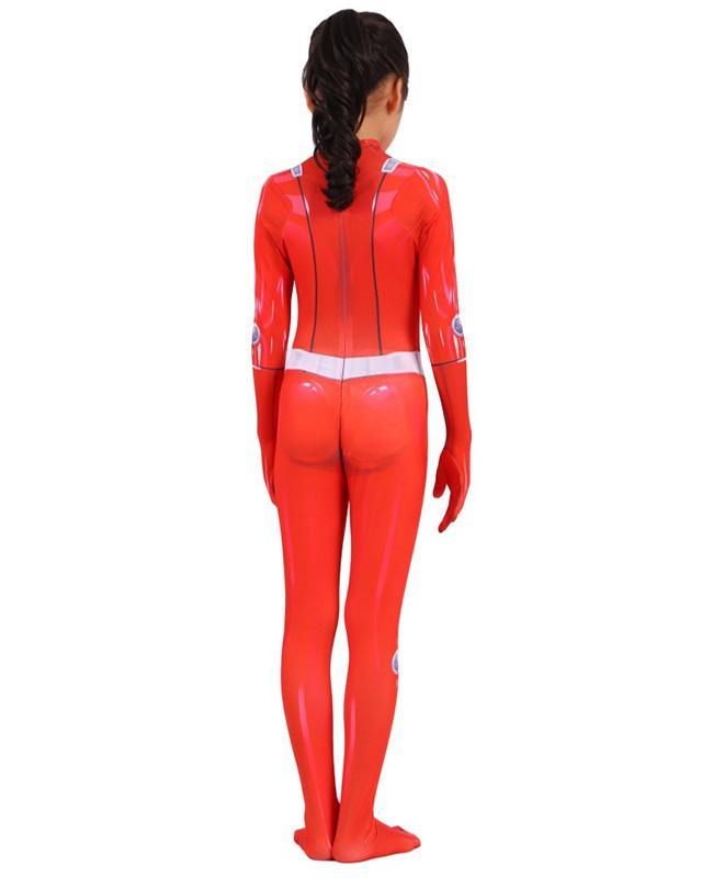 Girls Totally Spies Clover Zentai Suit Kids Cosplay Halloween Costume