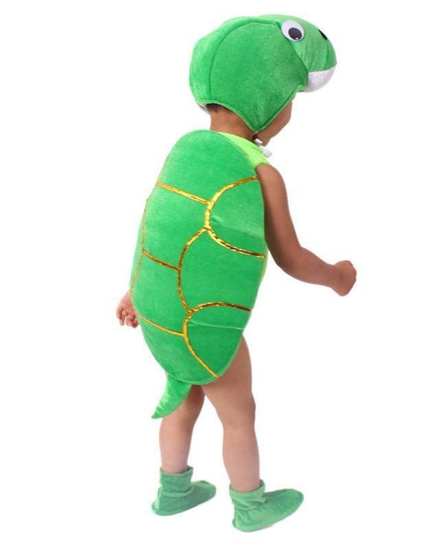 Boys Girls Tortoise Cosplay Kids Halloween Costume