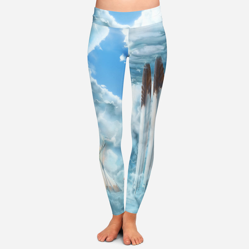 Connections In High Places Leggings