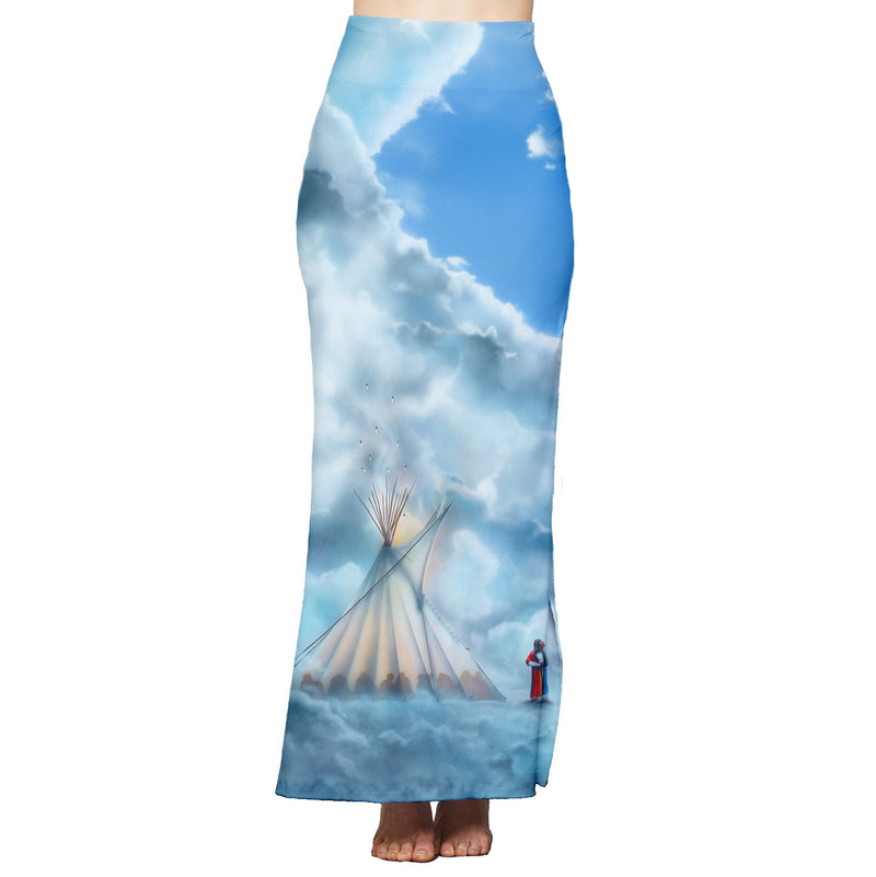 Connections in High Places Maxi Skirt