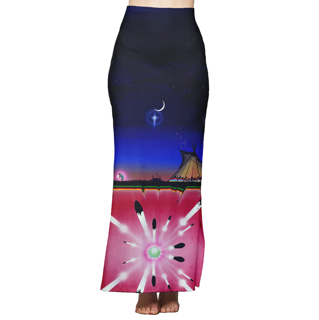 Mother of the Earth Maxi Skirt