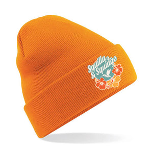 Squilla and Squidge - Orange Beanie