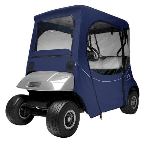 Classic Fairway Golf Cart FadeSafe E-Z-Go Enclosure - Navy