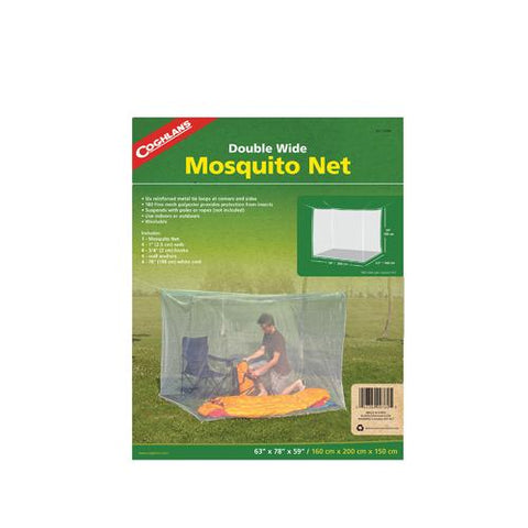 Mosquito Net Double, White