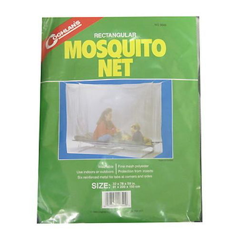 Mosquito Net Single, White