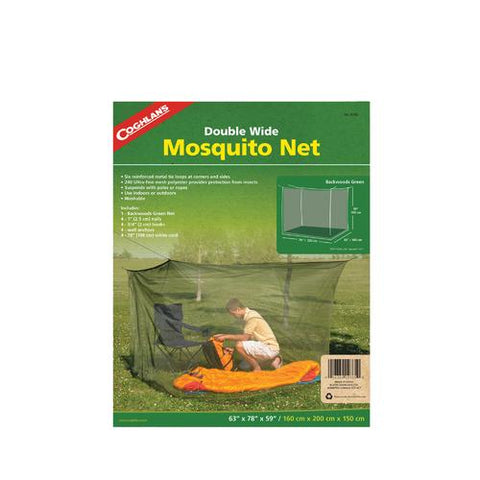 Mosquito Net Backwoods, Double, Green