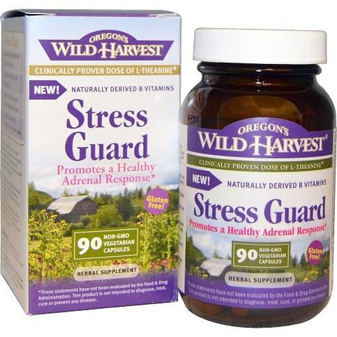 Oregon'S Wild Harvest Owh Stress Guard (1X90 Vcap)