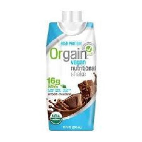 Orgain Shake, Smooth Chocolate Vegan (12X11 OZ)