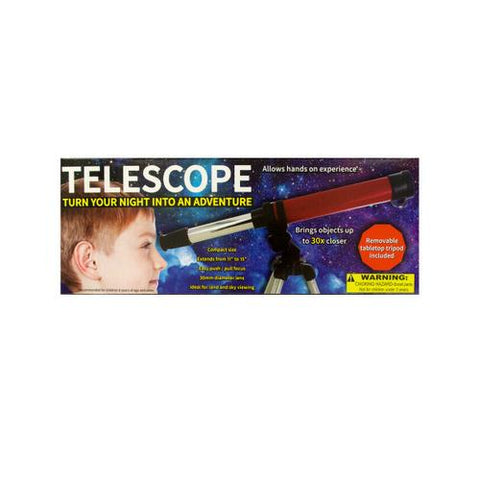 Compact Telescope with Tabletop Tripod ( Case of 4 )