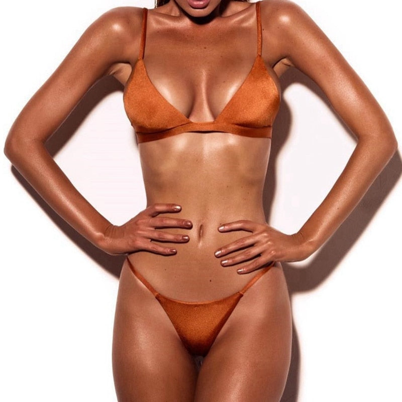 Swimwear Brazilian Bikinis Set