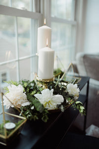 Gold Terrariums -  Modern Wedding & Event Rentals - Something Borrowed Minneapolis