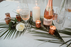 Glass Bottle Holders - Modern Wedding & Event Rentals - Something Borrowed Minneapolis