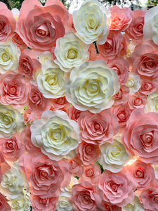 Flower Wall Backdrop -  Modern Event & Wedding Rentals - Something Borrowed Minneapolis