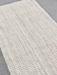 Jute Ivory Rug -  Modern Event & Wedding Rentals - Something Borrowed Minneapolis