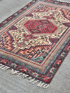 Perisan Oriental Vintage Style Rug - Event and wedding rentals - Something Borrowed Minneapolis