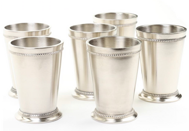 Silver Julep Vases -  Modern Event & Wedding Rentals - Something Borrowed Minneapolis