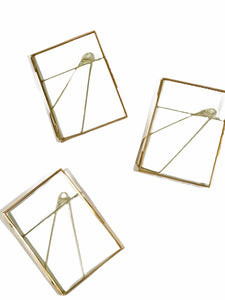 "Gold 5x7"" Picture Frame *Rental*"