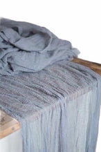 Load image into Gallery viewer, Cheesecloth Table Runners *Rental*