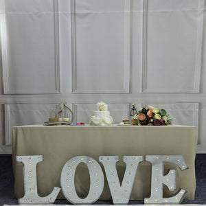 "Light Up Marquee ""LOVE"" Sign - LARGE Floor Standing -  Event and wedding rentals - Something Borrowed Minneapolis"