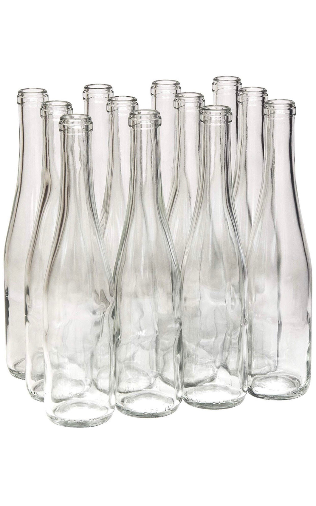 Glass Bottle Vases -  Modern Event & Wedding Rentals - Something Borrowed Minneapolis