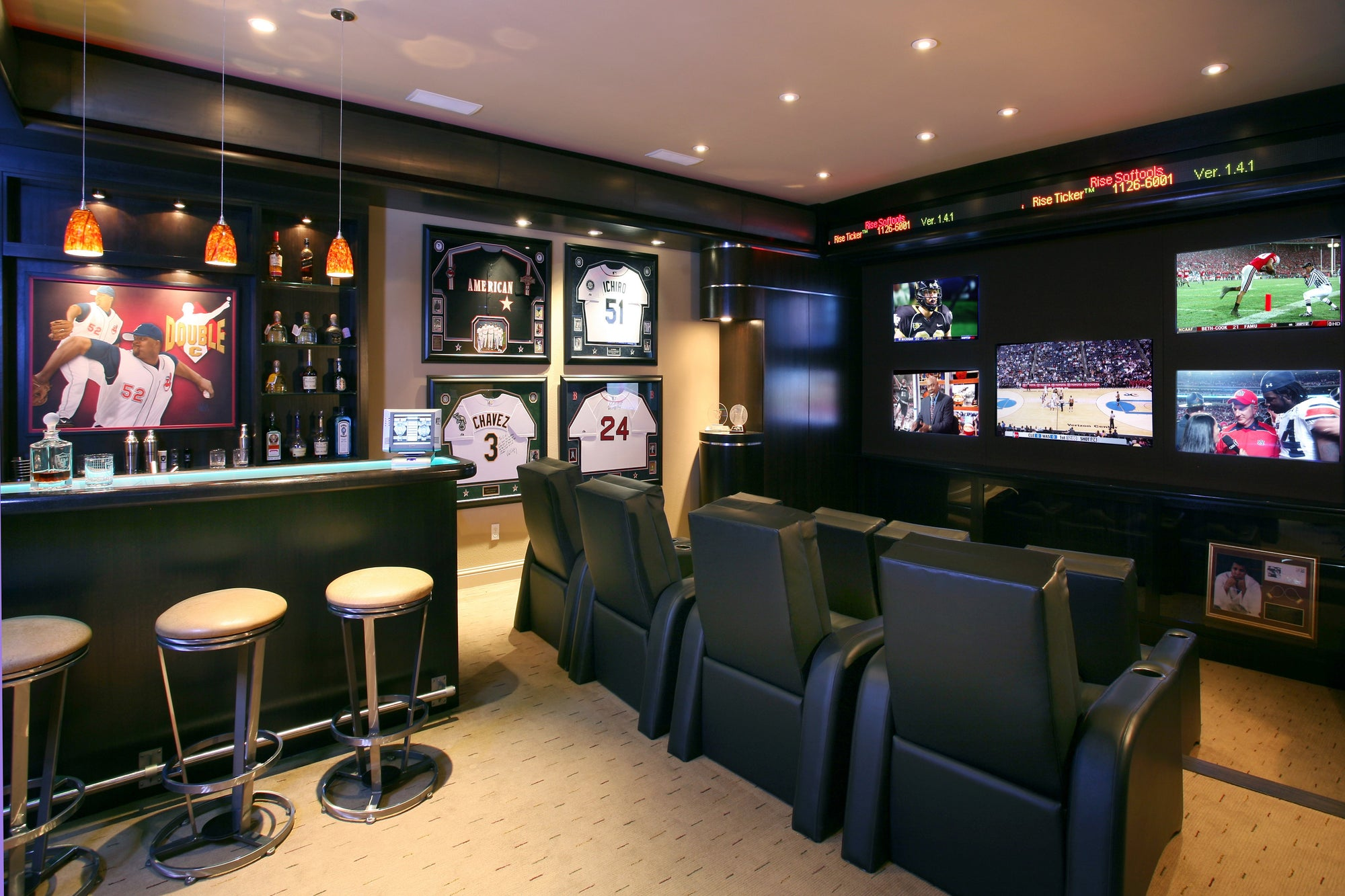 The Ultimate Man Cave<br>Katy Magazine