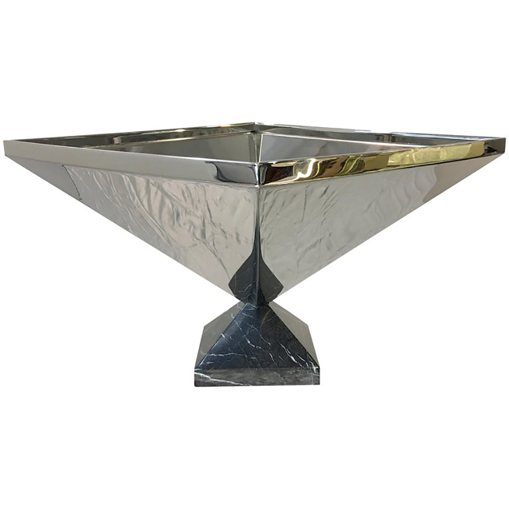 Center piece container Polished Stainless