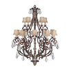 Stile Bellagio Chandelier 226540ST