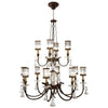 Eaton Place Chandelier 584740ST