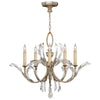 Beveled Arcs Chandelier 702240ST