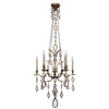 Encased Gems Chandelier 708640-3ST