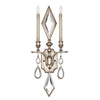 Encased Gems Sconce 729050-3ST