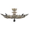 Crystal Laurel Semi-Flush Mount 753440ST