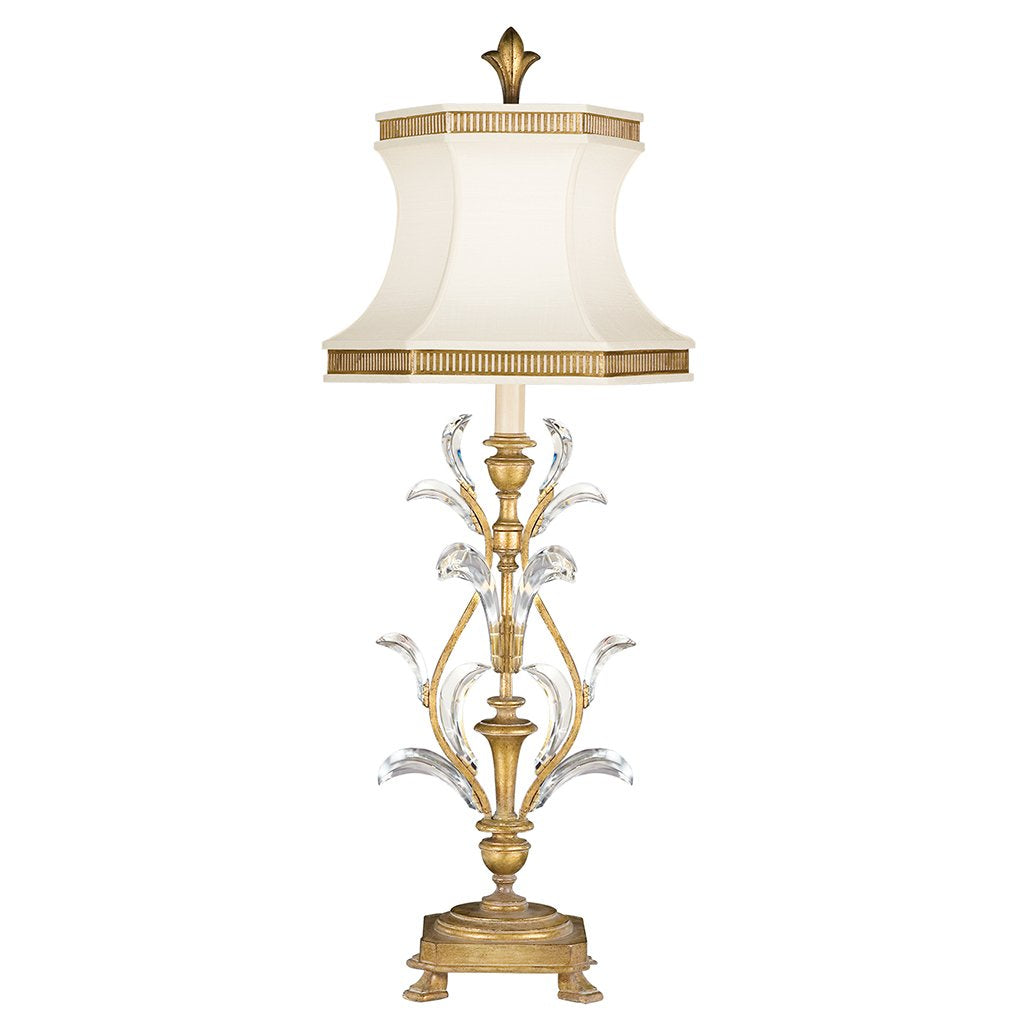 Beveled Arcs Gold Table Lamp 769010ST