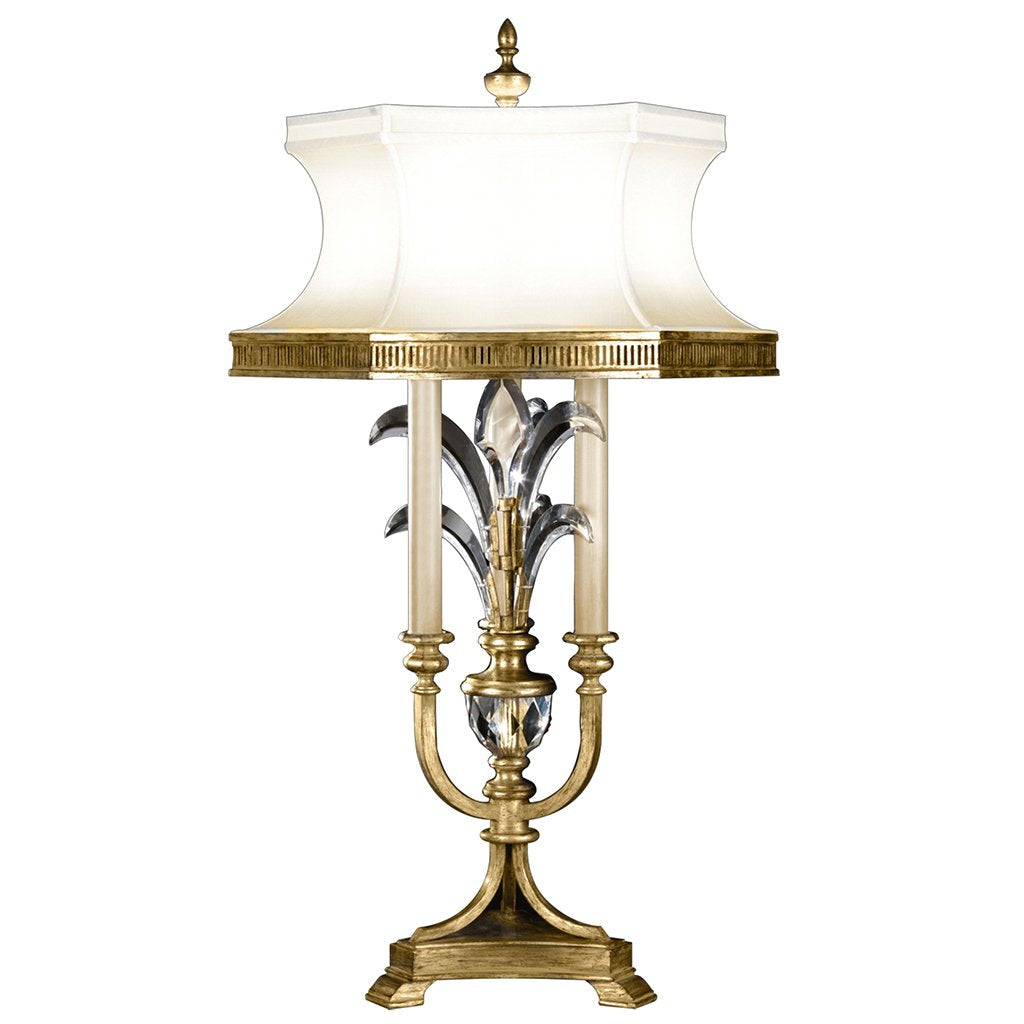 Beveled Arcs Gold Table Lamp 769410ST