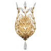 Crystal Laurel Gold Sconce 773950ST