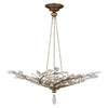 Crystal Laurel Gold Pendant 776440ST