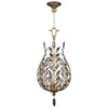 Crystal Laurel Gold Lantern 776540ST