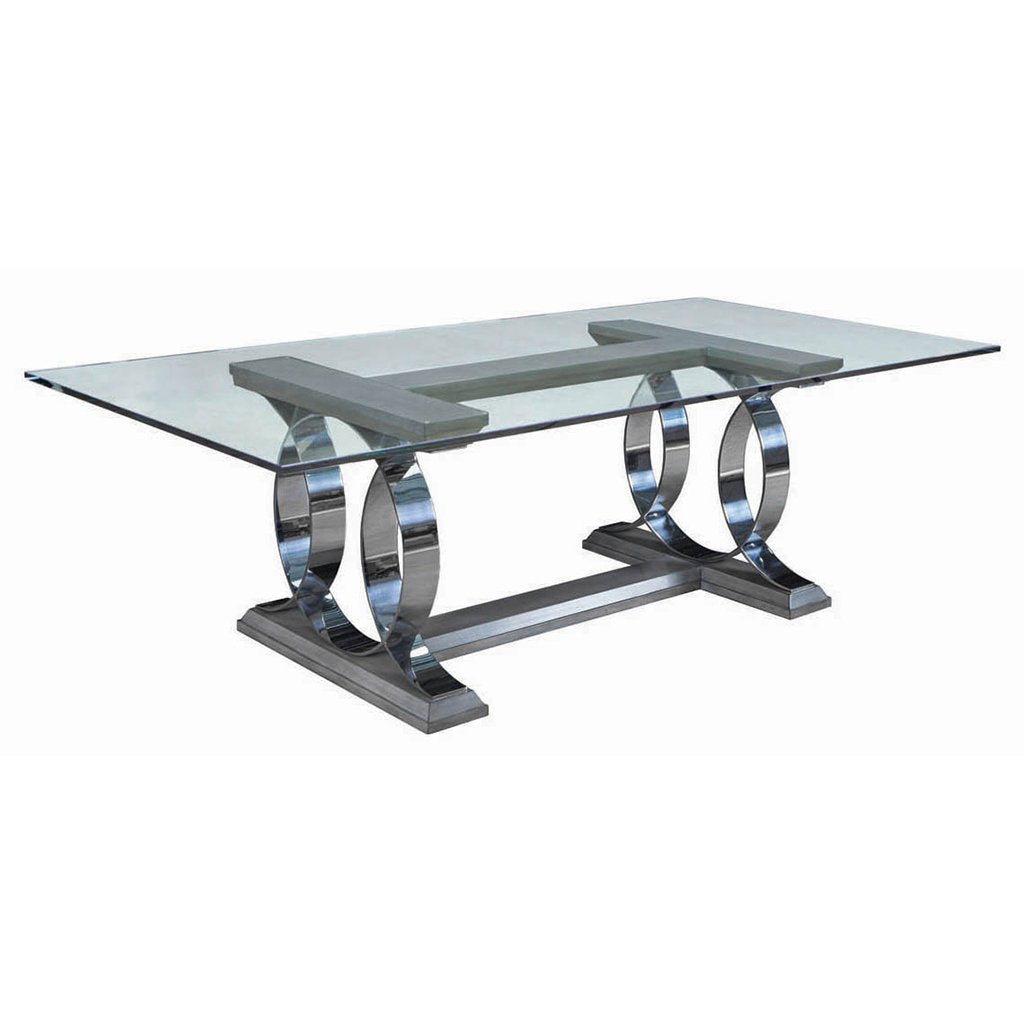 Swaim Dynasty Dining Table 809-7-G-96-PSSW