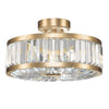Crystal Enchantment Semi-Flush Mount 815740-2ST