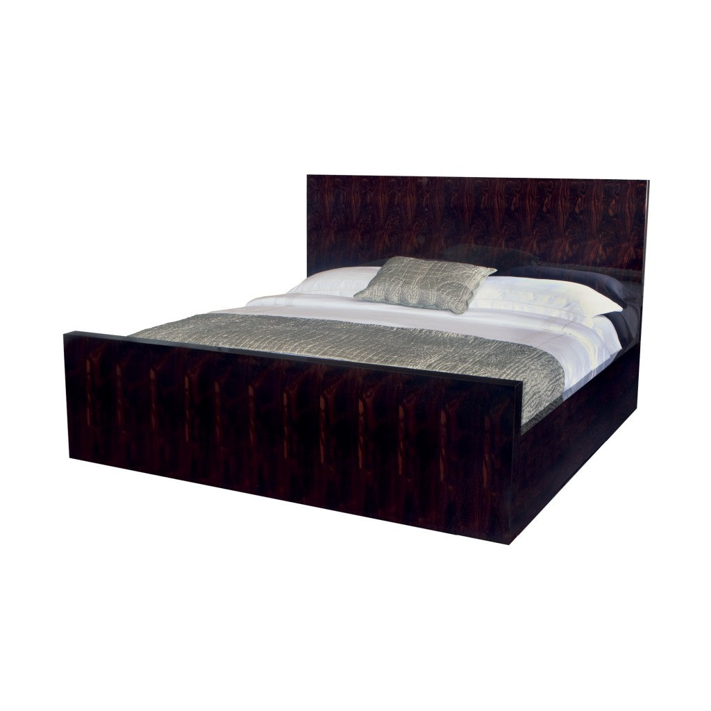 Macassar Ebony Matsouka California King Bed STG014C