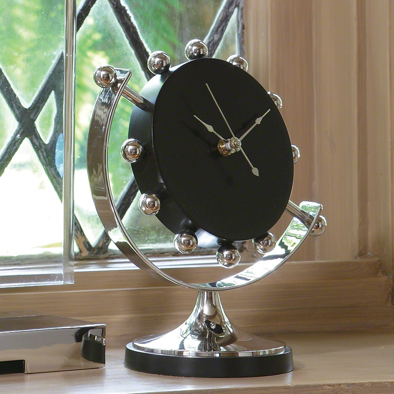 Axis Clock by Global Views