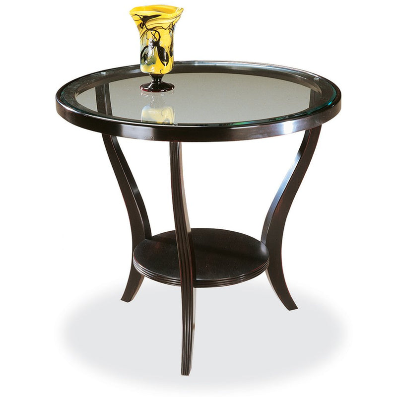 Swaim Cognac Lamp Table 902-1-G-W
