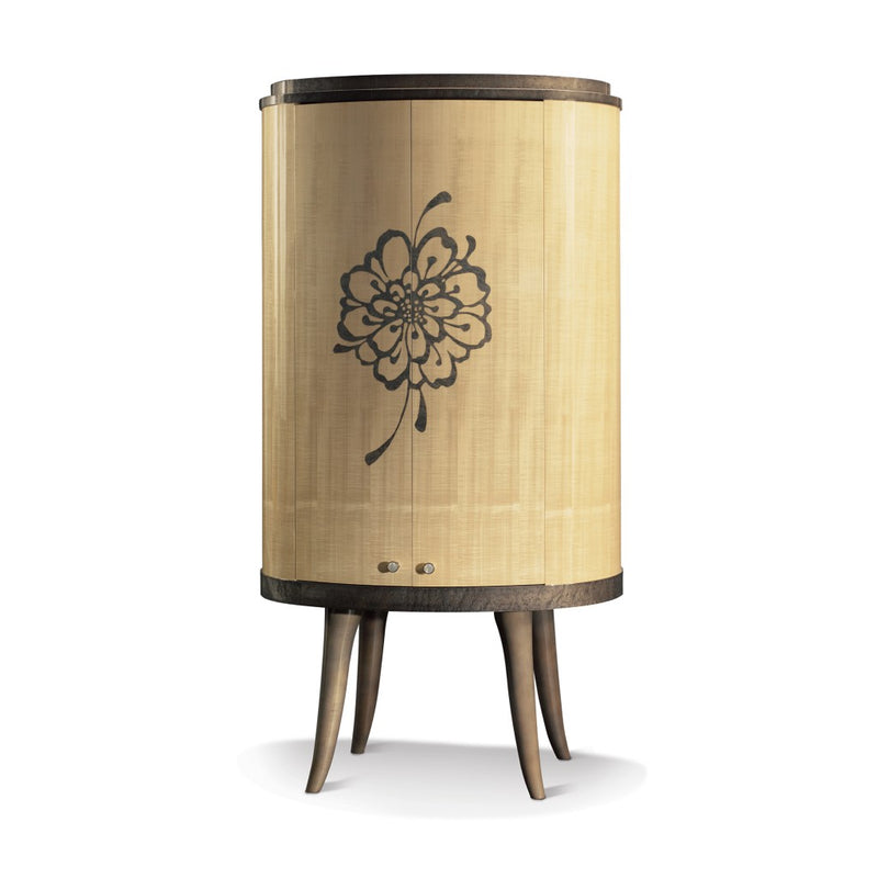 Matsuoka Chrysanthemum Cocktail Cabinet Light MET001A