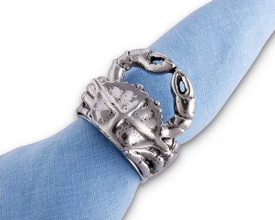 Crab Napkin Rings - Set of 4