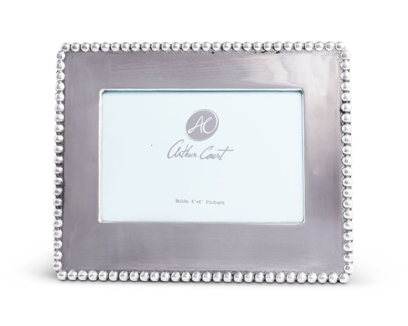 Engravable Beaded Photo Frame 4X6